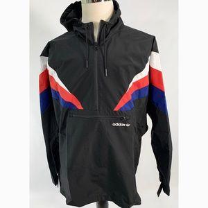 Adidas Men's Half Zip Wind Breaker Fontanka Jacket